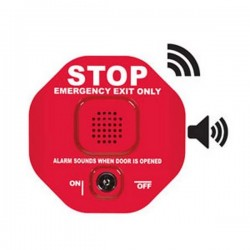 STI-6400WIR9 STI Wireless Exit Stopper Multifunction Door Alarm