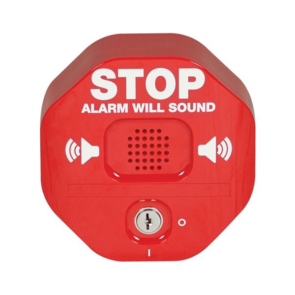 STI-6400 STI Exit Stopper Multifunction Door Alarm - Red