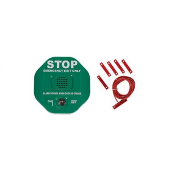 STI-6402-G STI Exit Stopper Multifunction Door Alarm for Double Door - Green