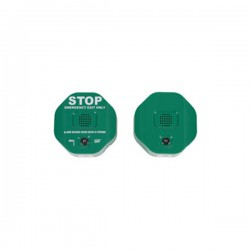 STI-6403-G STI Exit Stopper Multi Function Door Alarm with Remote Horn - Green