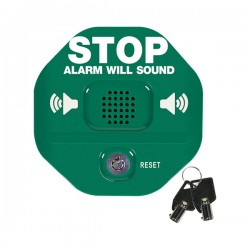 STI-6405-G STI Exit Stopper Multifunction Door Alarm with Momentary Reset Option - Green