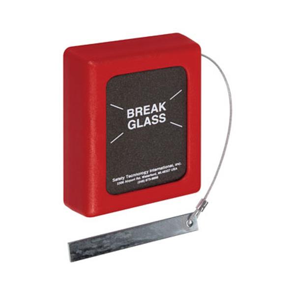 STI-6700 STI Break Glass Stopper - Keys Under Glass