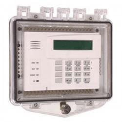 STI-7510F-HTR STI Heated Polycarbonate Enclosure - Key Lock - Clear
