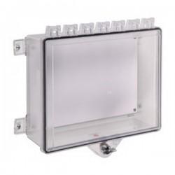 STI-7521 STI NEMA 4X Polycarbonate Cabinet with Thumb Lock - Clear