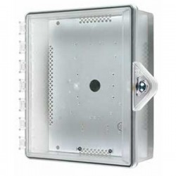 STI-7521-HTR STI Heated Type 4X Polycarbonate Enclosure - Thumb Lock - Clear