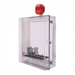 STI-7553AED STI AED Protective Cabinet - Clear