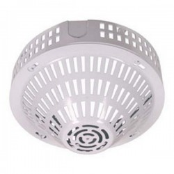 STI-8230-W STI Smoke Detector Damage Stopper with Conduit Spacer - White Coated Steel