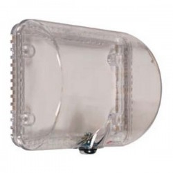 STI-9105 STI Thermostat Protector with Key Lock - Clear
