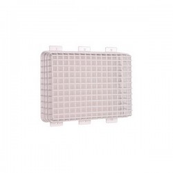 "STI-9641 STI Steel Emergency Lighting Cage - 10.7"" H x 14.6"" W x 4"" D"