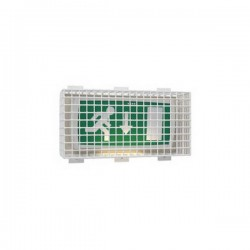 "STI-9644 STI Steel Emergency Lighting Cage - 8.7"" H x 17.75"" W x 5.25"" D"