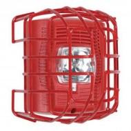 "STI-9708-R STI Strobe Wire Guard - Surface Mount - Red - 7.49"" H x 6.74"" W x 6.09"" D"""