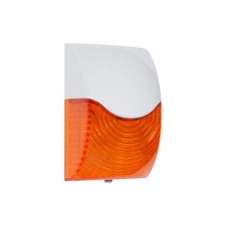 STI-SA5600-A STI Select-Alert Siren/Strobe - Rectangle - Amber