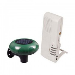 STI-V34100 STI Wireless Driveway Monitor with Voice Receiver - Solar Powered