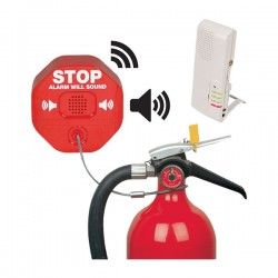 STI-V6200WIR4 STI Wireless Fire Extinguisher Theft Stopper with Voice Receiver