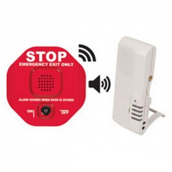 STI-V6400WIR4 STI Wireless Exit Stopper with Voice Receiver