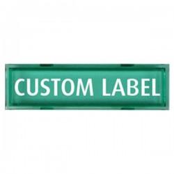 UB-1CL-G STI Custom Message Plate - Green